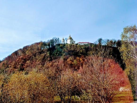 Гошевский монастырь в Долинском районе Ивано-Франковской области