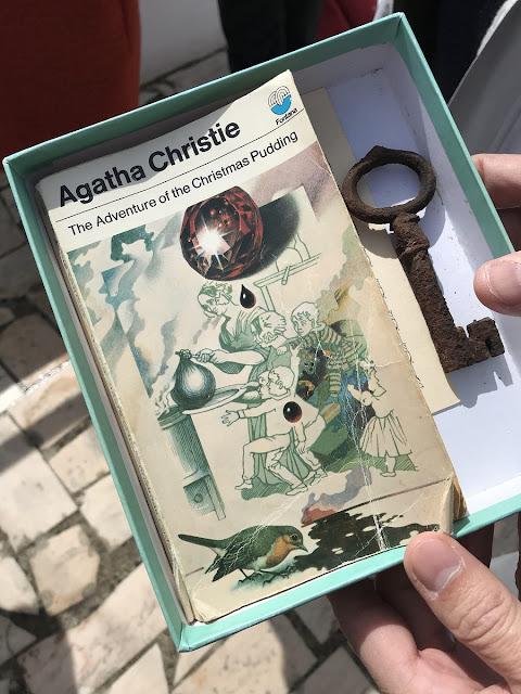 Livro de Agatha Christie