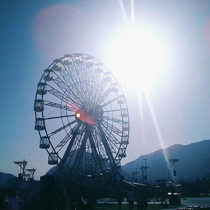Roda gigante Rock in Rio 2017