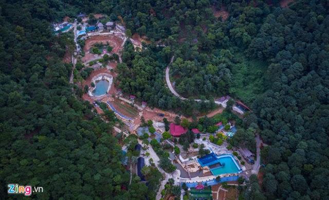 Khu sinh thái Thiên Phú Lâm khoét sâu vào lõi rừng tại xã Minh Phú