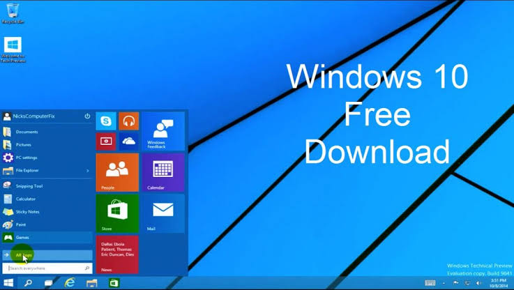 windows 10 download iso 64 bit full version free