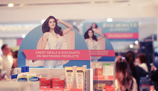 It's a #BigWhiteBlowout at Watsons - The Daily Posh | Travel & Leisure Blog