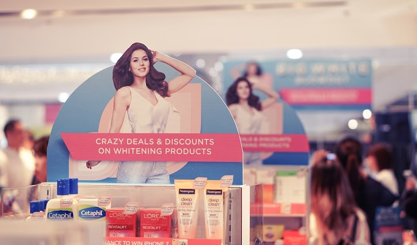 It's a #BigWhiteBlowout at Watsons
