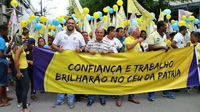 Vereador João Henrique Paolilo prestigia Desfile Cívico de 7 de Setembro em Alagoinhas
