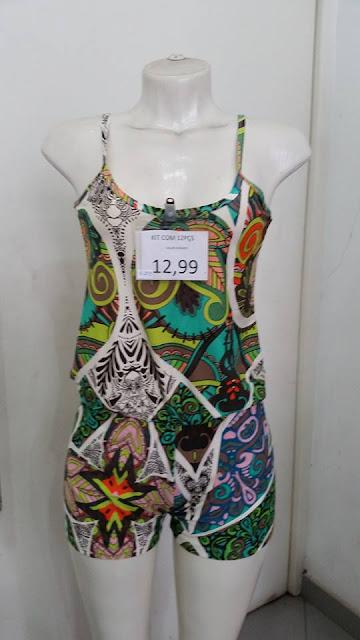 modinha feminina para lojas de preço único