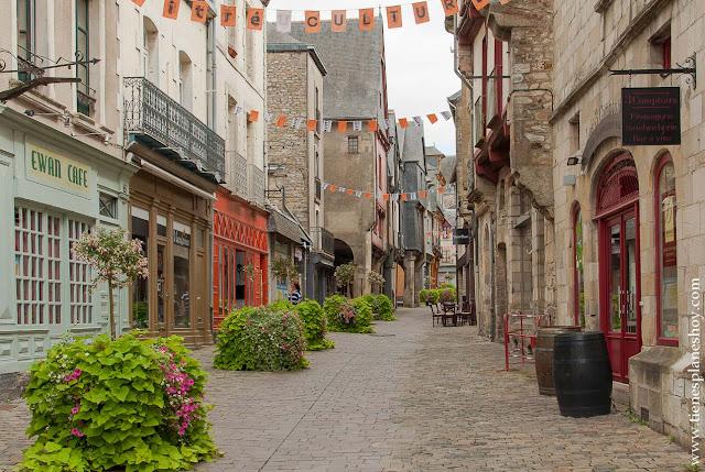 Viaje Bretaña francesa pueblos encanto Vitré