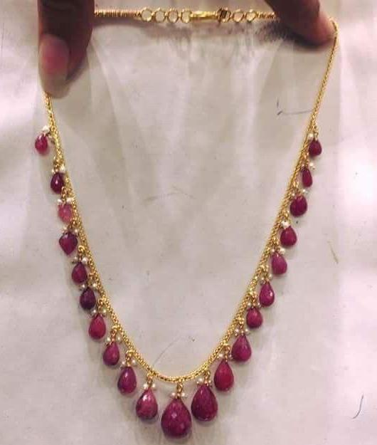 Very Light Weight Simple Ruby Drops Sets