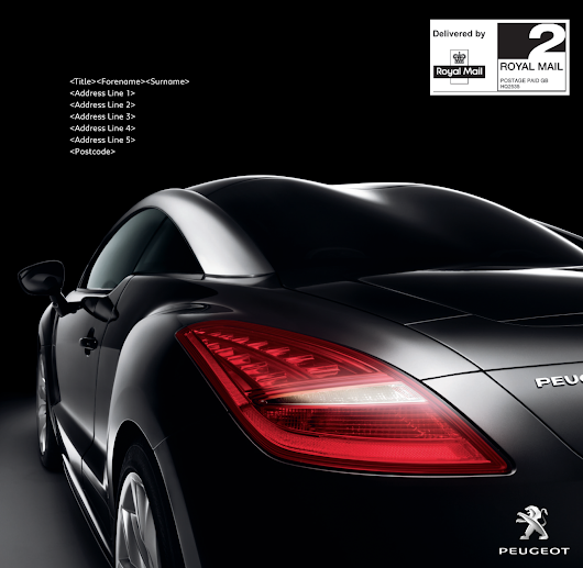 PEUGEOT // Special Edition customer mail packs