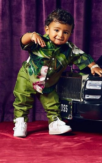 One-Year Old Asahd Khaled Covers Paper Magazine