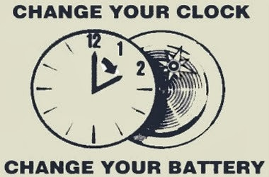 Change Your Clock Change Your Battery Nov 3