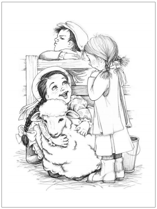 Printable coloring page of laura ingalls wilder coloring pages for Laura ingalls wilder coloring pages