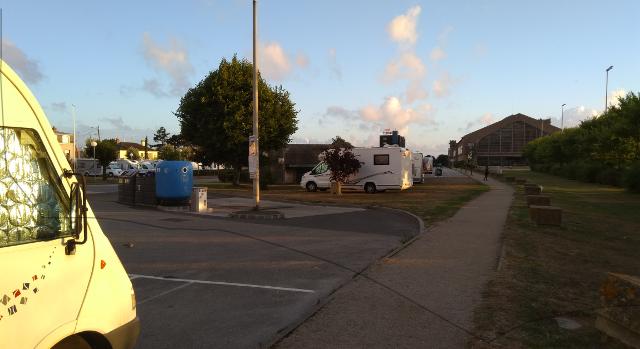 Àrea d'autocaravanes de Cherbourg