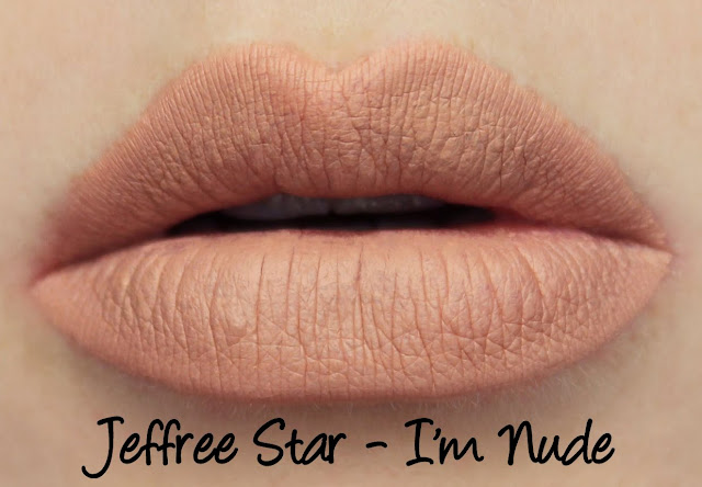 Jeffree Star Velour Liquid Lipstick - I'm Nude Swatches & Review