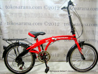 Sepeda Lipat Element Orbit 7 Speed 20 Inci