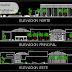 مخطط مشروع مكتبة عمومية بتصميم مميز اوتوكاد dwg