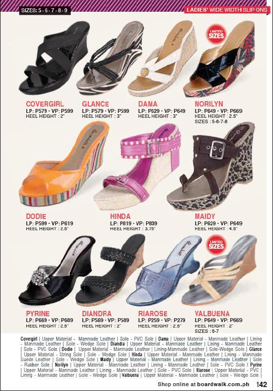 Boardwalk Catalog Men Shoes