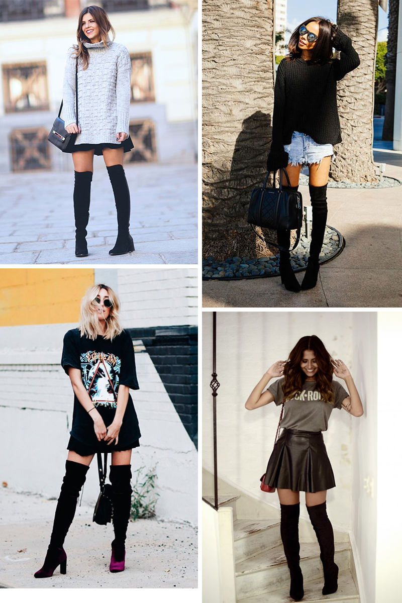 Como usar Botas Over the Knee