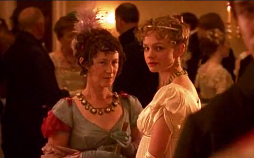 Following Pride and Prejudice, Mulligan returned to Austen, this time alongside Felicity Jones as playful debutante Isabella Thorpe in the ITV production of Northanger Abbey.