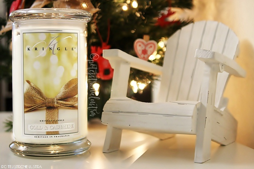 Kringle Candle Gold & Cashmere - zapach idealny na prezent