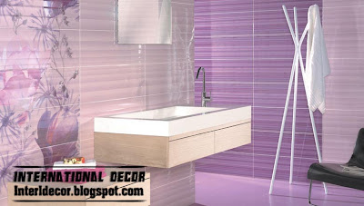Home Exterior Designs Wall Tile For Bathroom In Purple