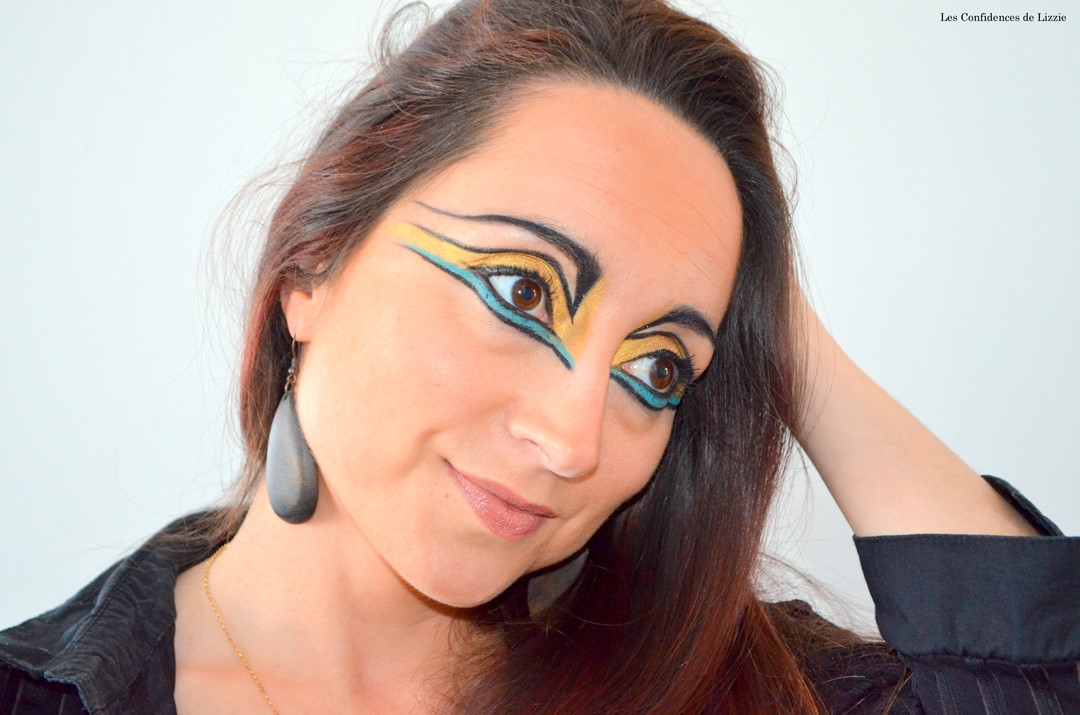 maquillage créatif - maquillage adulte Disney - Disney - Maquillage indienne - maquillage indienne d'Amerique