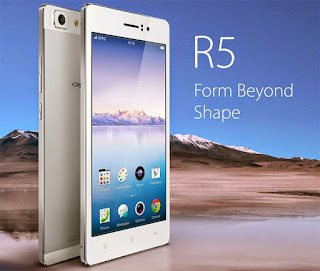 OPPO R5 slim design