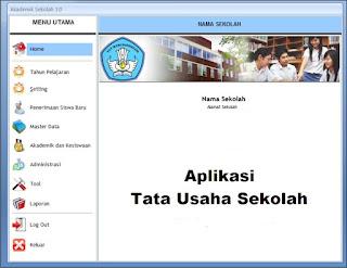 Aplikasi Tata Usaha Sekolah Dengan SD, SMP, SMA 2017
