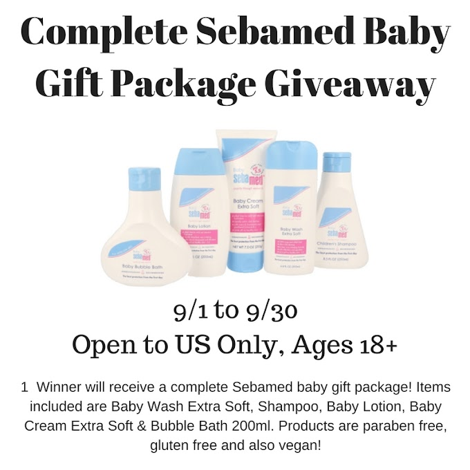 Complete Sebamed Baby Gift Package Givaway