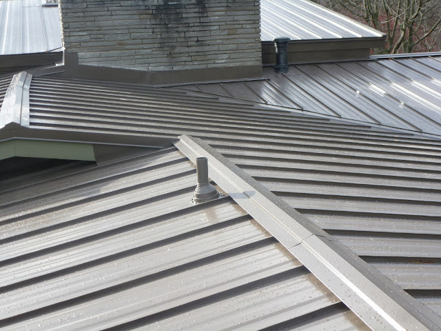 Finished Metal Roof Pictures And More Metal In My Life