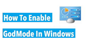 How to enable GodMode in Windows 10 and 8