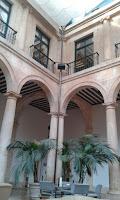 Galería central Palacio Duque de Lerma