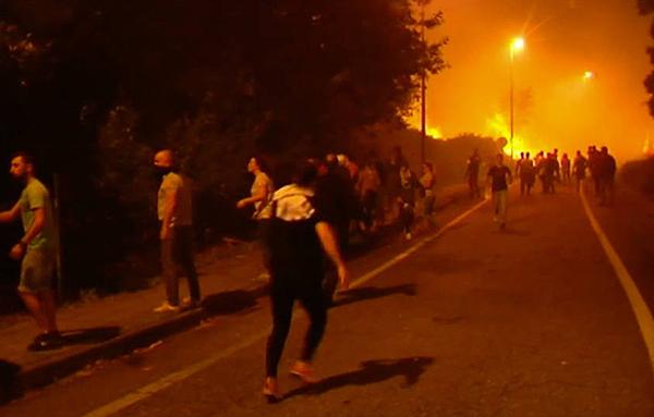 Ya son cuatro las personas muertas por incendios Galicia
