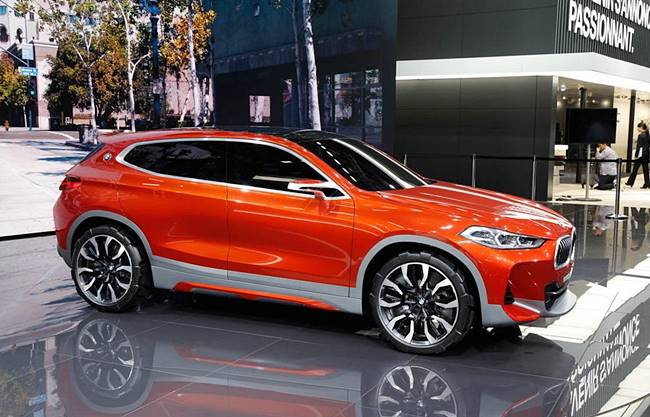 2018 BMW X2 Concept Previewed