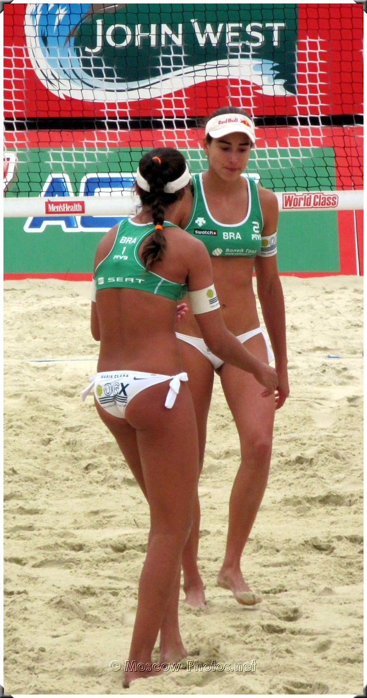Beach Volleyball Brazilian Team