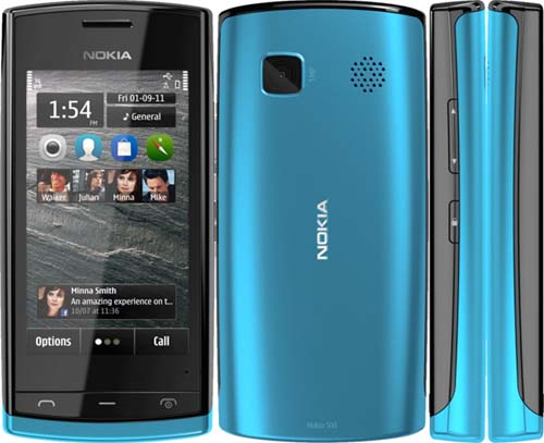 Nokia 500 – A phone with eye catching features