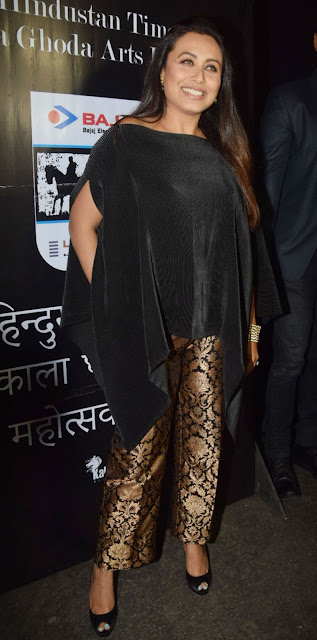 Rani-Mukherjee-poses-at-kala-ghoda