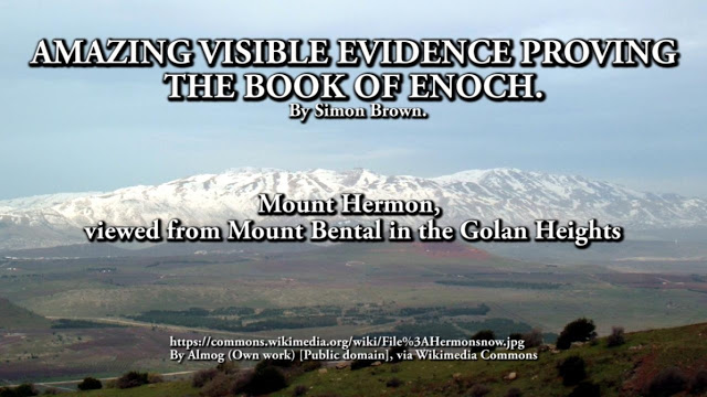 AMAZING VISIBLE EVIDENCE PROVING  THE BOOK OF ENOCH.