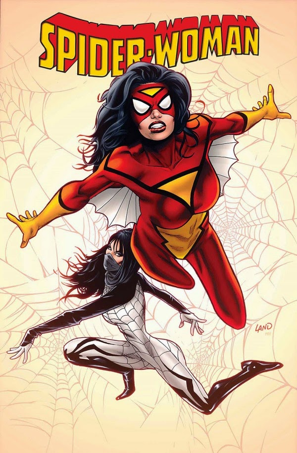 The cover of Marvel Comic's new Spider-Woman series.