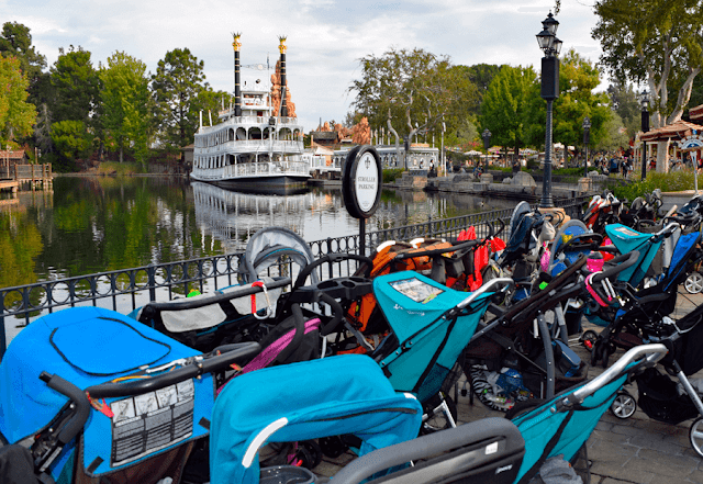 Cochecitos bebe en Disneylandia