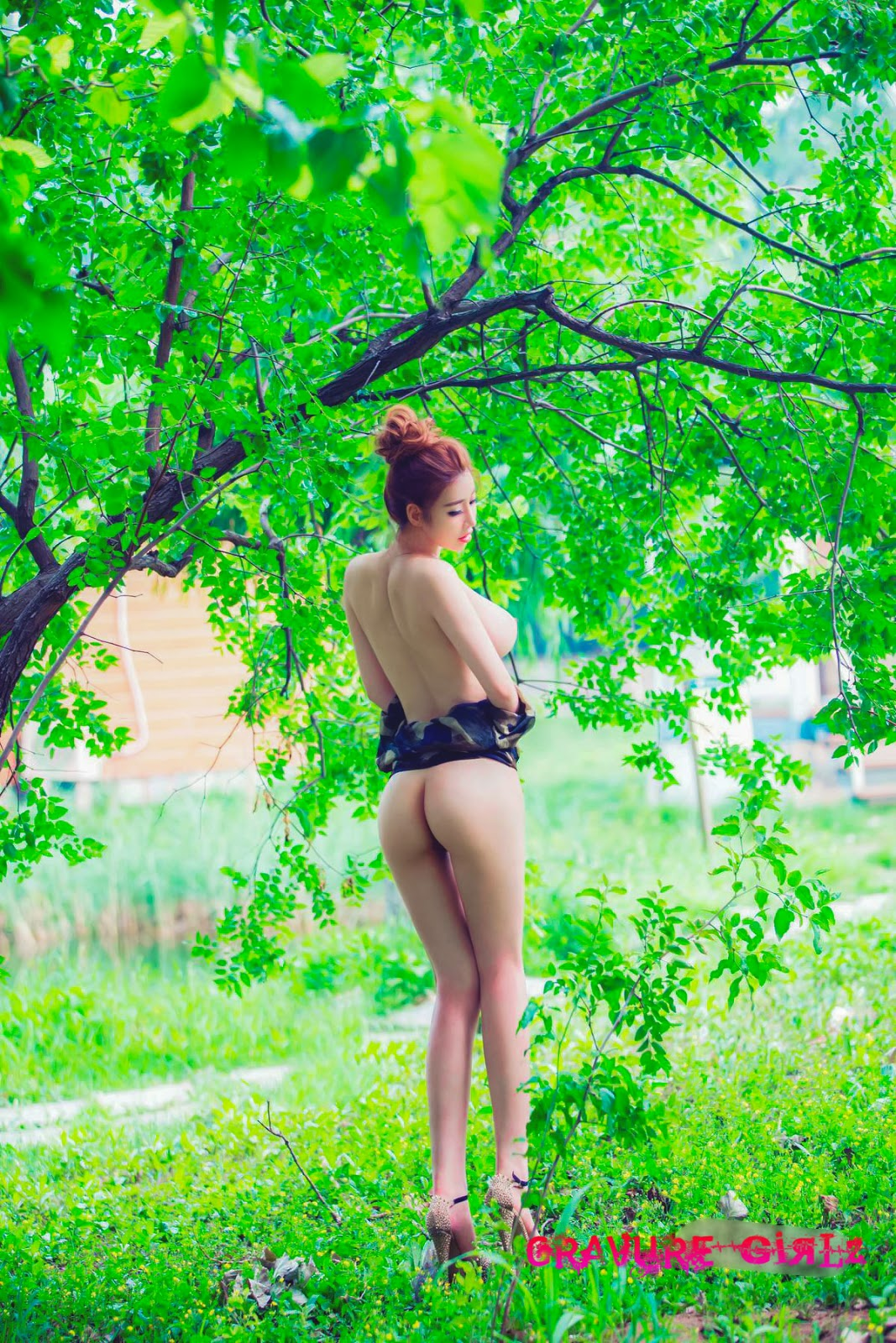 Luci  Nude Chinese Girl W Huge Boobs And Butt -5287