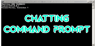 Cara Chatting di Command Prompt
