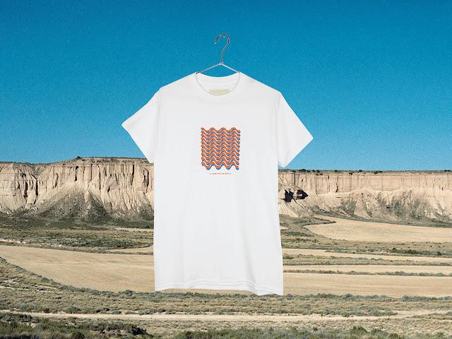 T-shirt Oscillations white - Surfin Estate