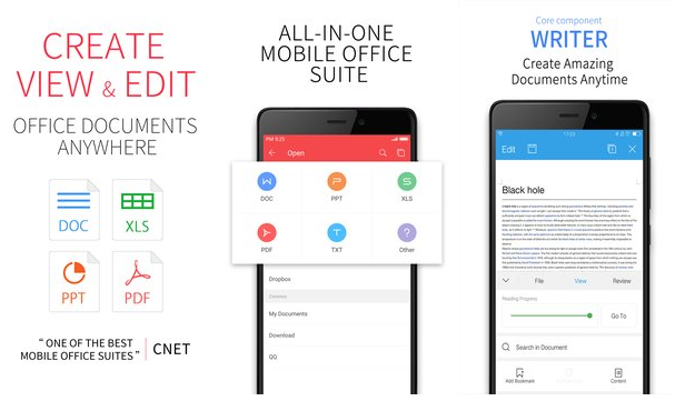 تطبيق WPS Office + PDF