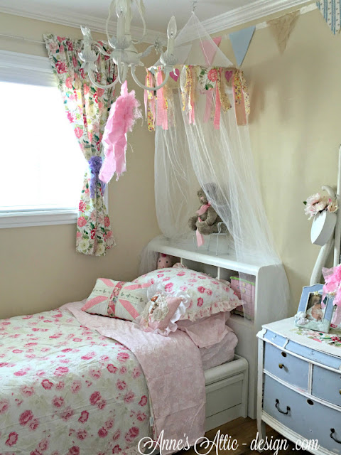 Shabby Chic Bedroom Reveal