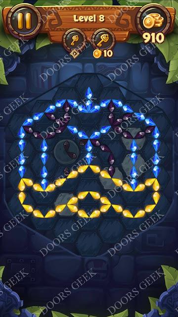 Gems & Magic [Indigo] Level 8 Solution, Walkthrough, Cheats