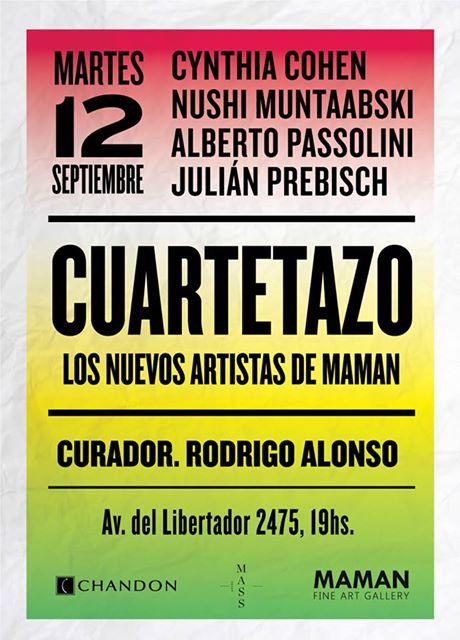 Inaugura Cuartetazo en MAMAN Fine Art