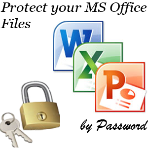 Protect your Documents, Workbooks and Presetations by Password