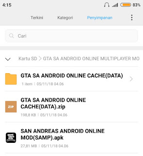 Cara GTA Sa Android Multiplayer