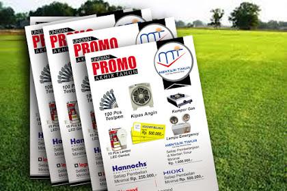 Contoh Brosur Promo
