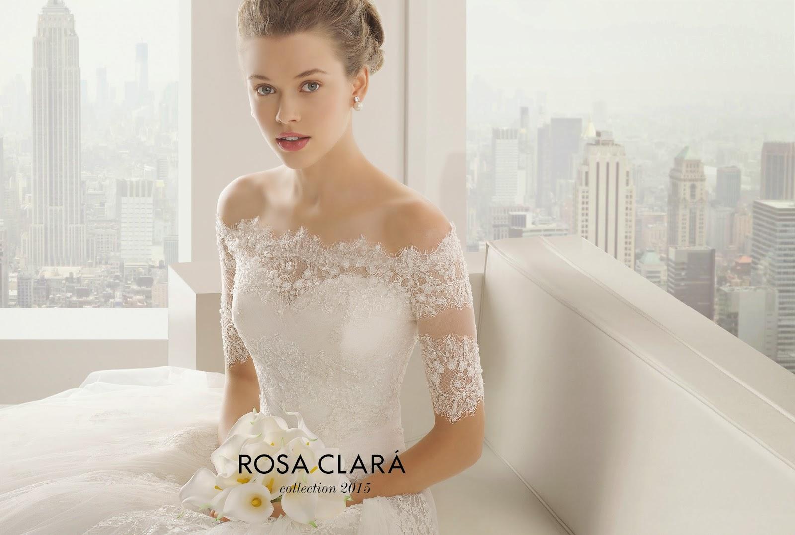 abiti da sposa 2015 Rosa Clarà e matrimonio idee, tendenze, colori